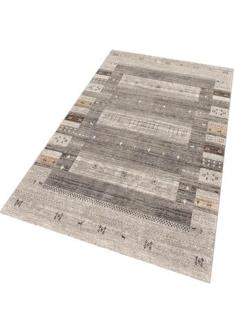Teppich, »Milano 1450«, merinos, rechteckig, Höhe 10 mm, maschinell gewebt kaufen