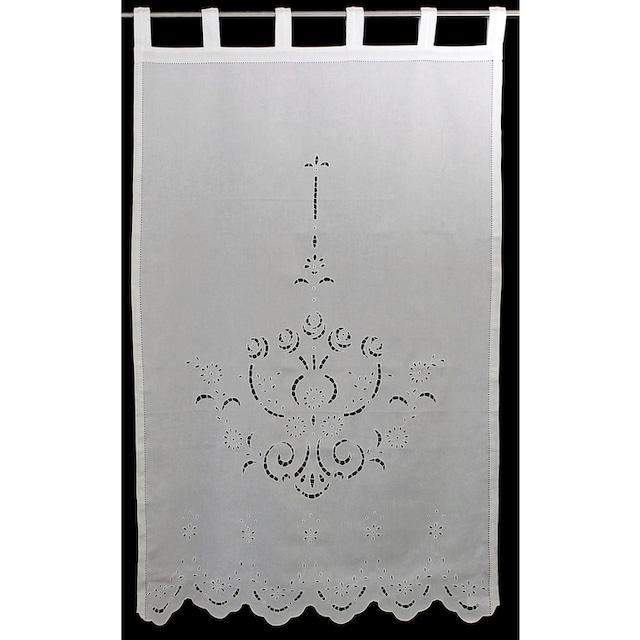 Vorhang, »Ortler«, HOSSNER - ART OF HOME DECO, Schlaufen 1 Stück