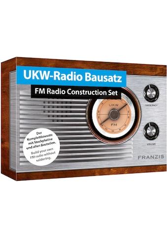 Franzis Experimentierkasten »UKW-Radio Bausatz zum Stecken« kaufen