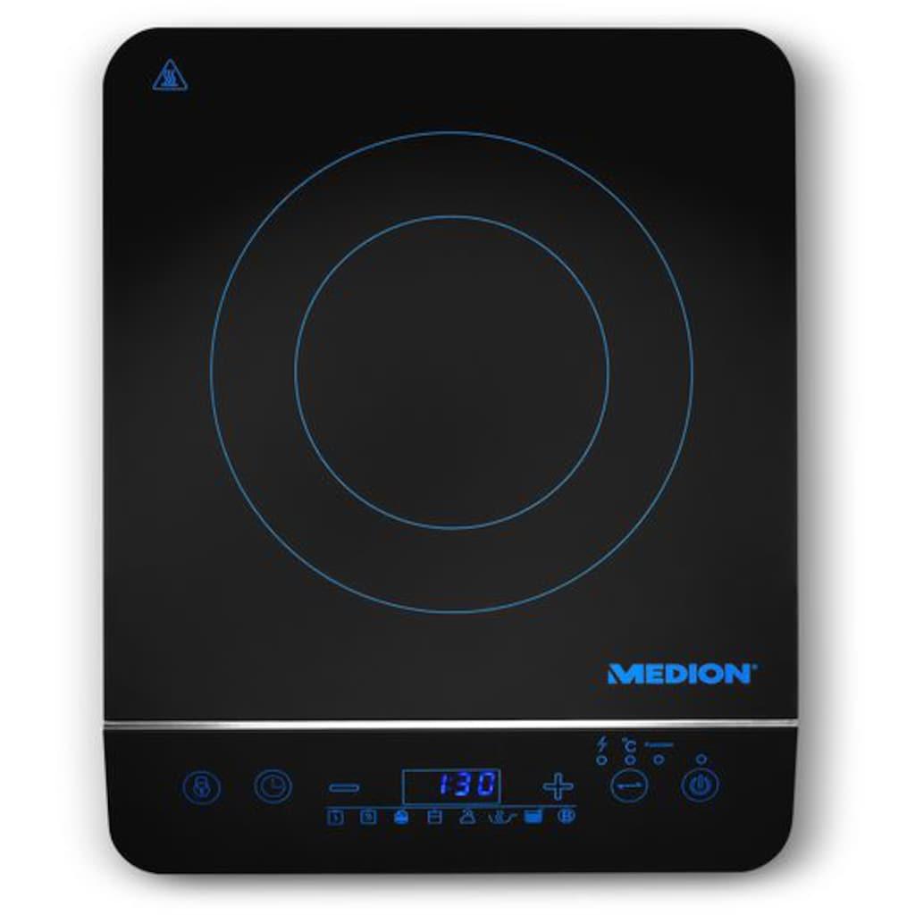Medion® Einzel-Induktionskochplatte »MD 17595«, modernes LED-Display für einfache Bedienung