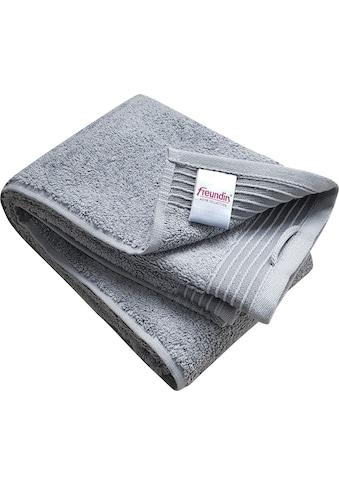 freundin Home Collection Handtücher »Freundin Home Handtücher«, (2 St.), mit... kaufen