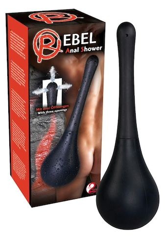 "REBEL Analdusche ""Shower Black"" kaufen"