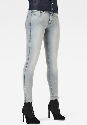 G-Star RAW Skinny-fit-Jeans »3301 Mid Skinny Jeans«, klassisches 5-Pocket-Design im... kaufen