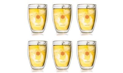 Creano Thermoglas »Blume des Lebens«, (Set, 6 tlg.), 6-teilig kaufen