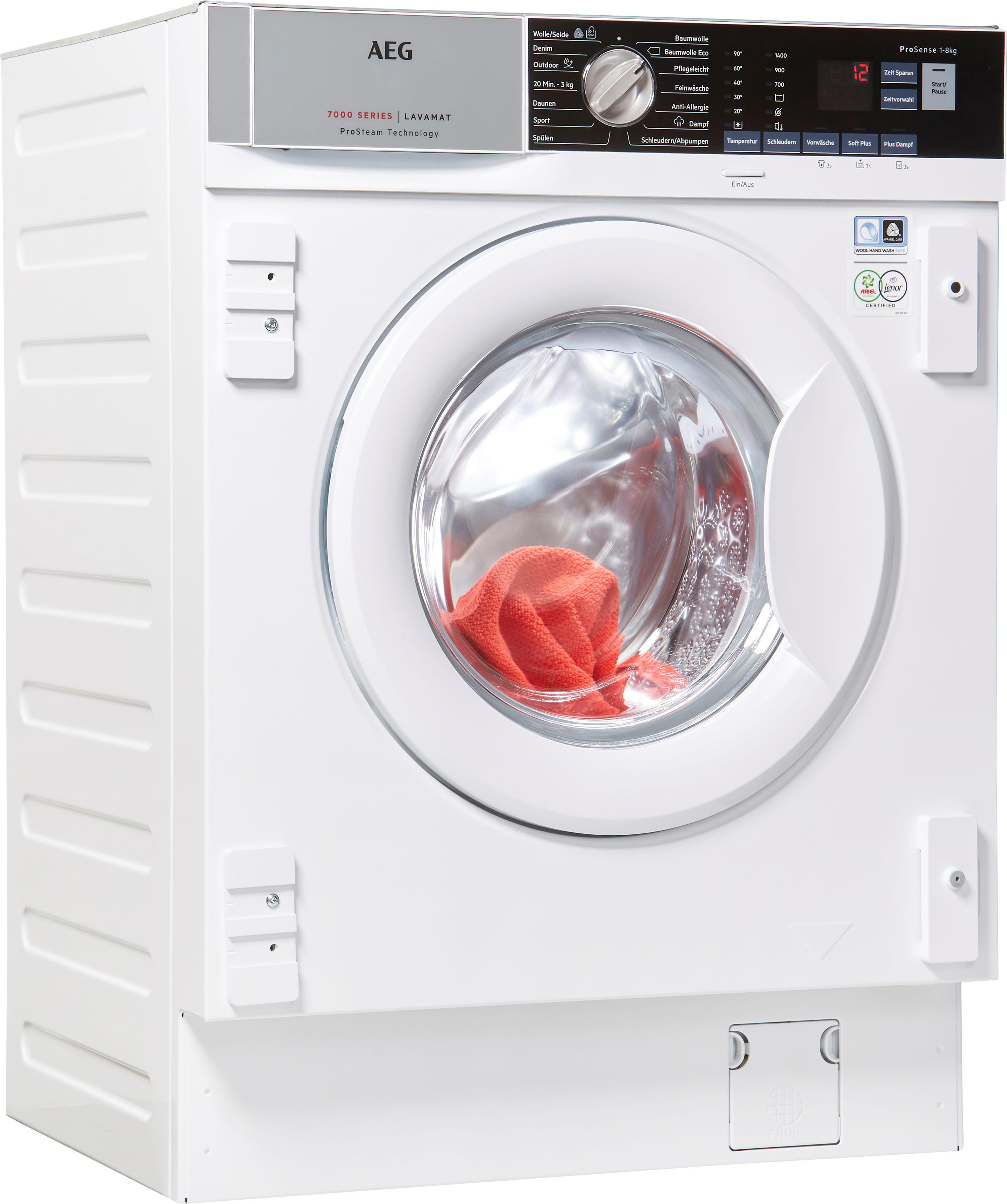 AEG Einbauwaschmaschine L7FBI6480   Bad > Waschmaschinen und Trockner > Einbauwaschmaschinen   AEG