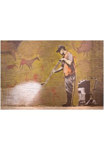 Art & Pleasure Metallbild »Cleanmaster« kaufen