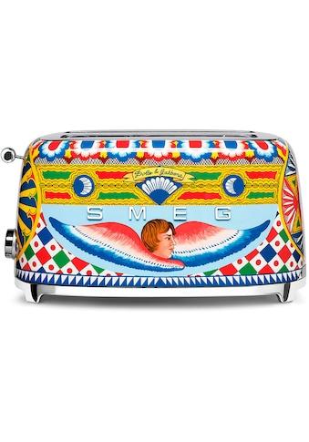 DOLCE & GABBANA Sicily is my Love Toaster »TSF02DGEU Smeg«, 1500 Watt kaufen