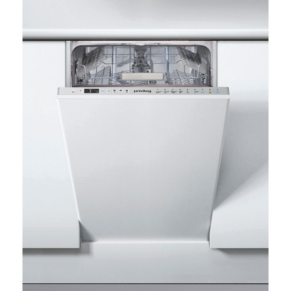 Privileg vollintegrierbarer Geschirrspüler »RSIO 3T224 E«, RSIO 3T224 E (2), 10 Maßgedecke