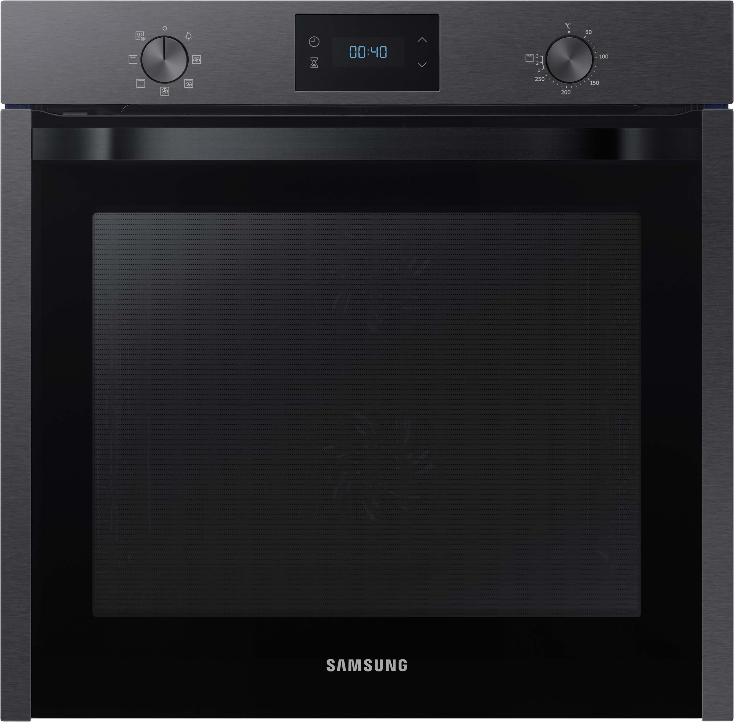 Samsung Backofen ´´NV75M5571BM/EG´´, Dual Cook™ mit Pyrolyse-Selbstreinigung | Küche und Esszimmer > Küchenelektrogeräte > Herde und Backöffenen | Schwarz | Keramik | SAMSUNG