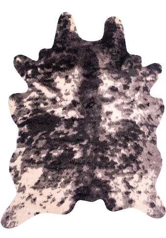 Fellteppich, »Kuh - Fell«, Home affaire, fellförmig, Höhe 20 mm, maschinell gewebt kaufen
