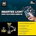 Brilliant Leuchten LED-Streifen »Light Strip LED-Streifen 5m bunt Tuya-App«