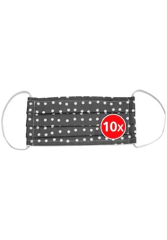 WENKO Mund - Nasen - Masken Set 10 - tlg., wiederverwendbar, Größe L kaufen