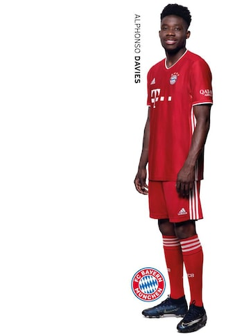 Wall-Art Wandtattoo »FCB München Alphonso Davies« kaufen