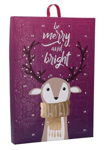 SIX Schmuck-Adventskalender, mit Glassteinen, Geschenkidee für die Adventszeit kaufen