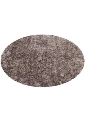Kayoom Hochflor-Teppich »Diamond 700«, rund, 40 mm Höhe, besonders weich durch... kaufen