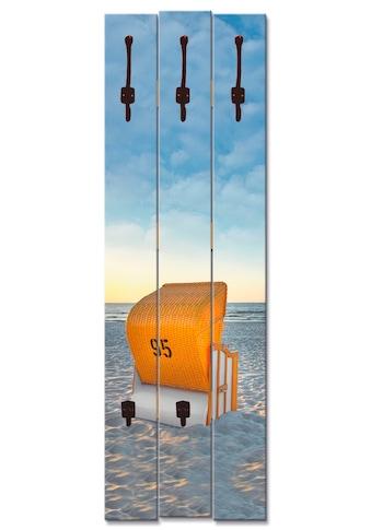 Artland Garderobenpaneel »Ostsee7  -  Strandkorb« kaufen