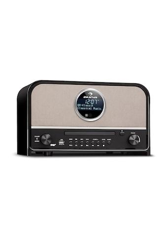 Auna DAB Radio 60 W max. CD DAB+/UKW-Tuner BT MP3 USB schwarz kaufen