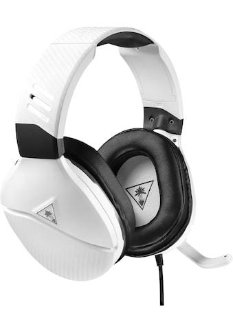 Turtle Beach Gaming-Headset »Recon 200«, Mikrofondesign: Fixiertes, durch Hochklappen... kaufen