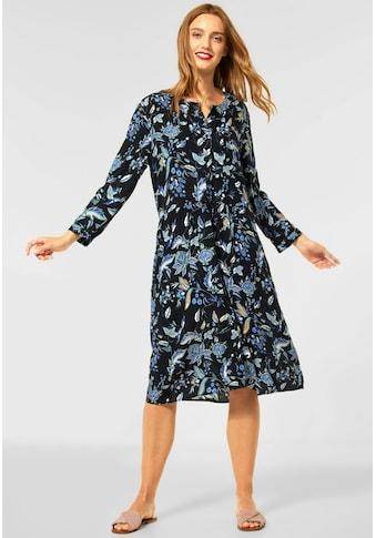 STREET ONE Blusenkleid, mit Bumendruck kaufen