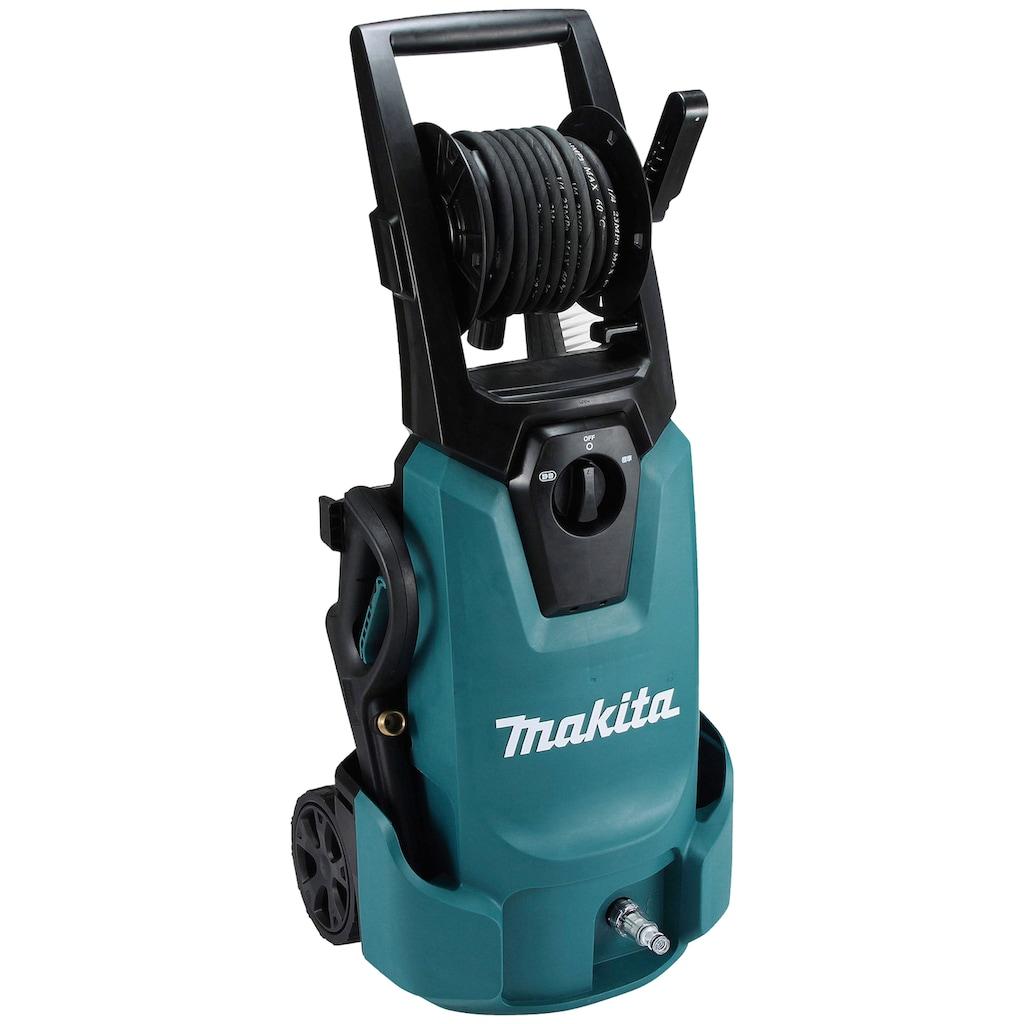 Makita Hochdruckreiniger »HW1300«, integrierte Schlauchtrommel, IPX5 Schutzisolierung