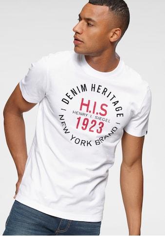 H.I.S Rundhalsshirt kaufen