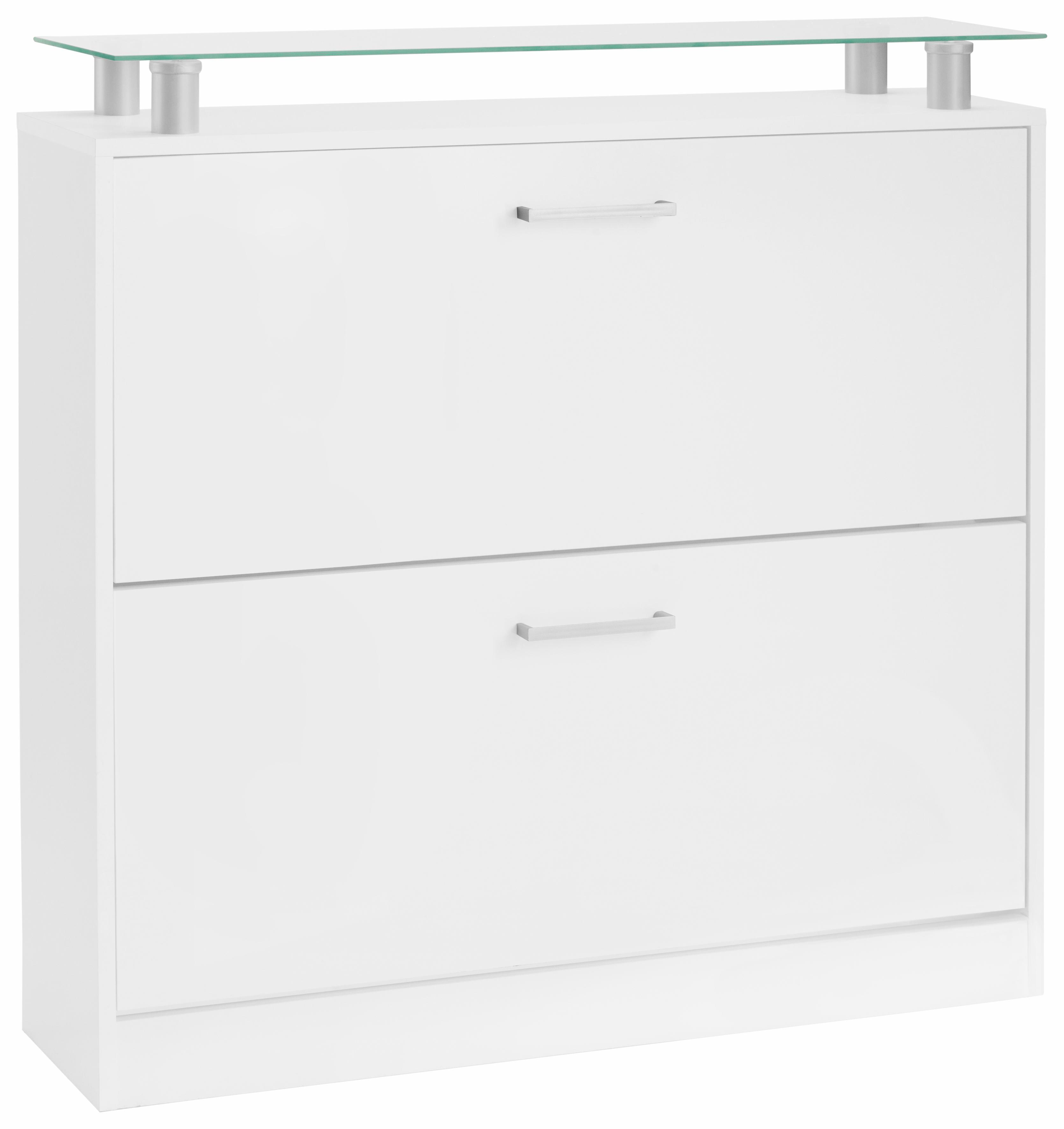 borchardt Möbel Schuhschrank »Finn«, Breite 89 cm, mit Glasablage günstig online kaufen