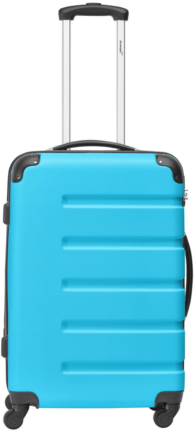 Packenger Hartschalen-Trolley ´´Marina´´, 4 Rollen   Taschen > Koffer & Trolleys > Trolleys   Blau   Packenger