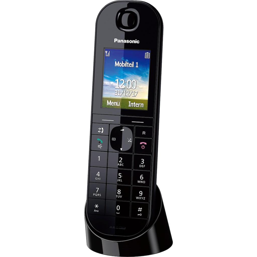 Panasonic Schnurloses DECT-Telefon »KX-TGQ400«, ( ), Weckfunktion, Freisprechen