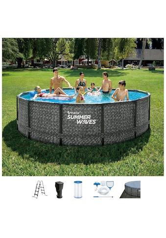 SummerWaves Rundpool »Elite«, ØxH: 457x107 cm kaufen
