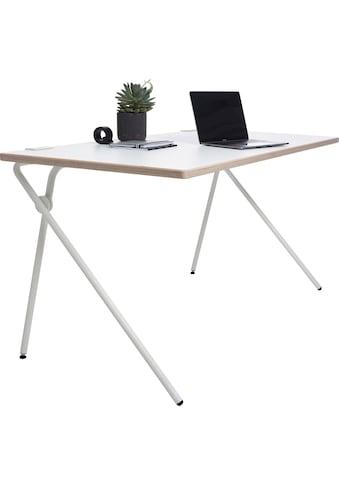Müller SMALL LIVING Sekretär »PLATO One«, weißes Gestell, Home Office minimal, einfach... kaufen