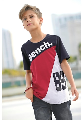 Bench. T-Shirt, mehrfarbig kaufen