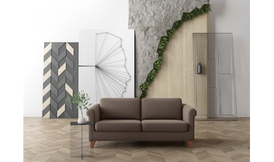 machalke® 2,5-Sitzer »amadeo«, mit geschwungenen Armlehnen, Breite 180 cm kaufen