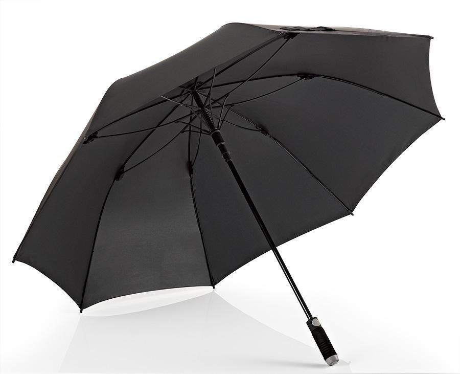 Euroschirm® Regenschirm für Zwei, »Stockschirm birdiepal® automatic, schwarz« | Accessoires > Regenschirme > Stockschirme | Schwarz | Polyester - Nylon | EUROSCHIRM®