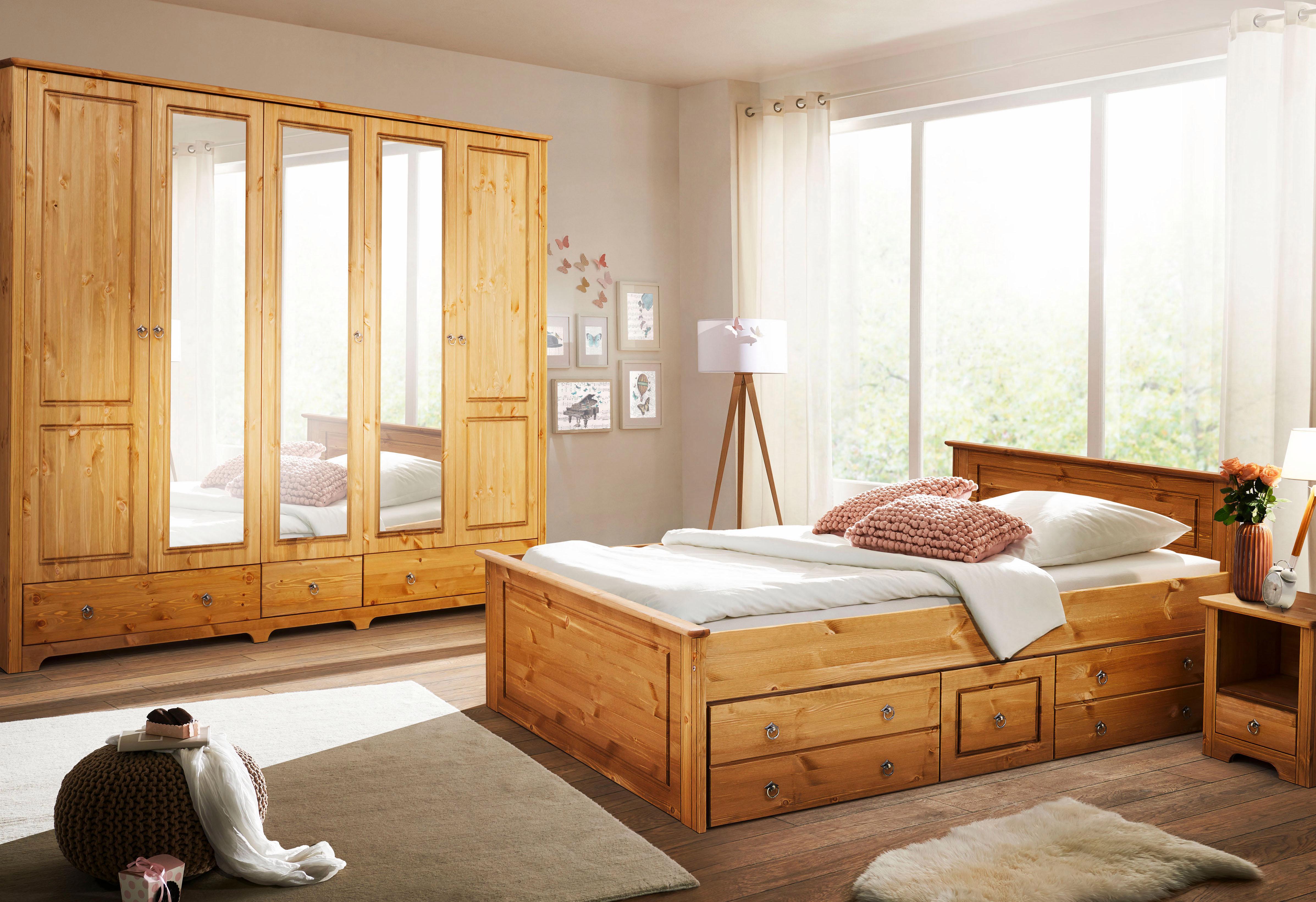 home affaire schlafzimmer set hugo set 4 tlg online. Black Bedroom Furniture Sets. Home Design Ideas