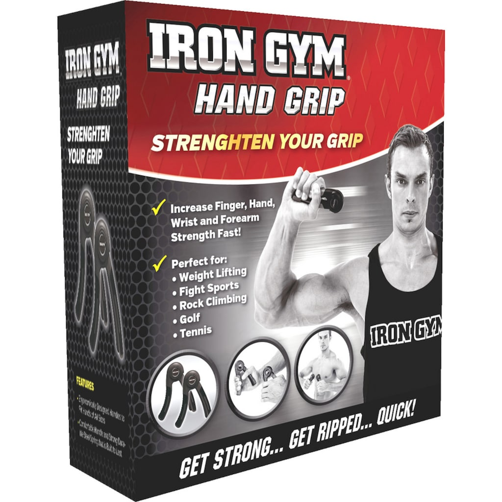 Iron Gym Handmuskeltrainer »Hand Grip«, (Set, 2 St.)