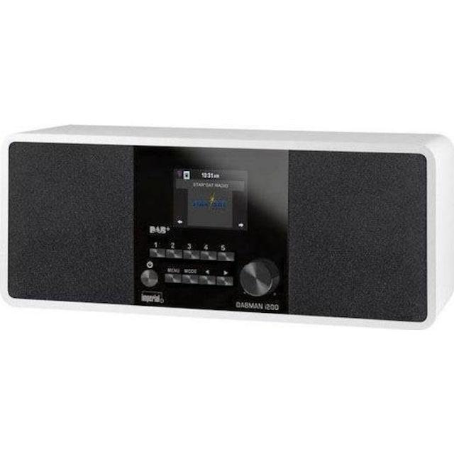 IMPERIAL »DABMAN i200« Digitalradio (DAB+) (Digitalradio (DAB+),FM-Tuner,UKW mit RDS,Internetradio, 20 Watt)