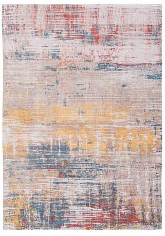 louis de poortere Teppich »STREAKS«, rechteckig, 3 mm Höhe, Flachgewebe, modernes... kaufen