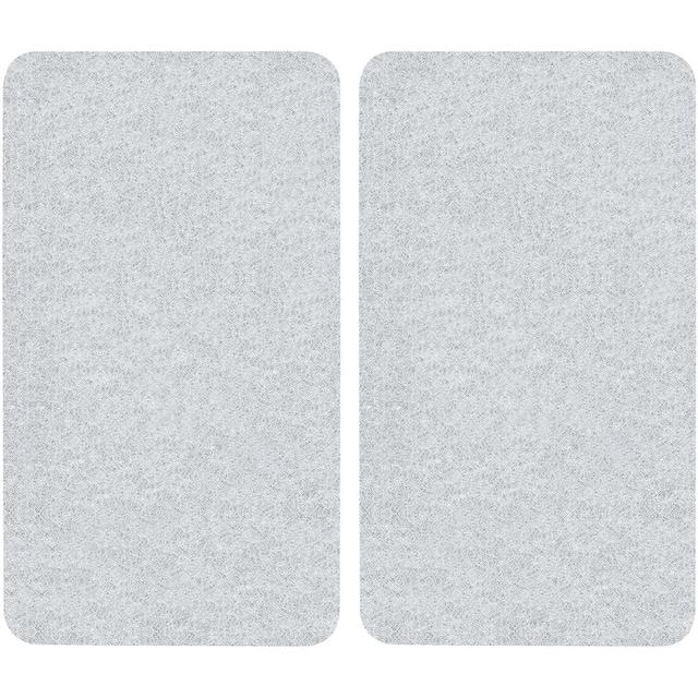 "WENKO Herd-Abdeckplatte ""Universal"", Glas Kunststoff, (Set, 2-tlg.)"