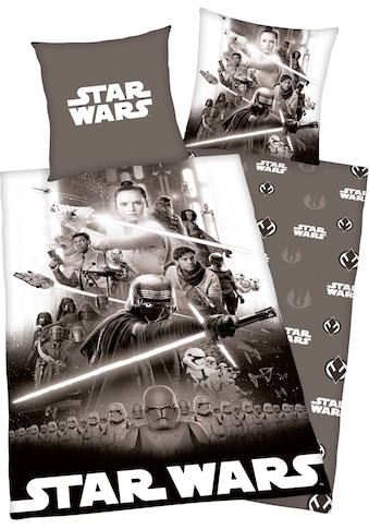 Star Wars Wendebettwäsche »Star Wars«, mit tollem Wendemotiv kaufen