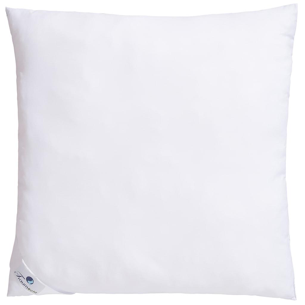 Traumecht Microfaserkissen »Saskia«, Füllung: Polyesterfaser, Bezug: Polyester, (1 St.), mit kühlenden und wärmenden Effekt