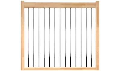 DOLLE Brüstungsgeländer »Lyon«, L: 100 cm, buche, mit Metallstäben kaufen