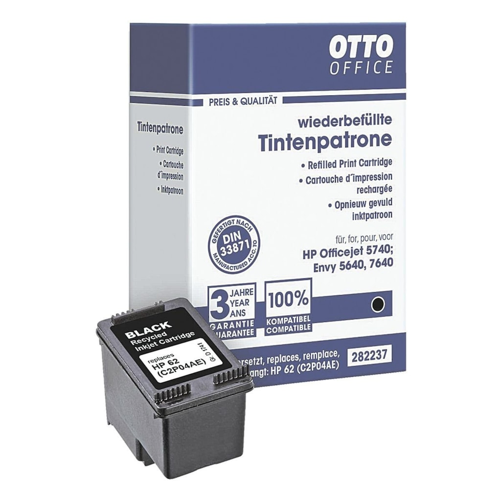 Otto Office Tintenpatrone ersetzt Hewlett Packards (Nr. 62) »C2P04A«