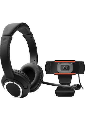 Hyrican Full HD-Webcam »Home Office Set PST00185 Headset + Full HD Webcam (ST-GH577 +... kaufen