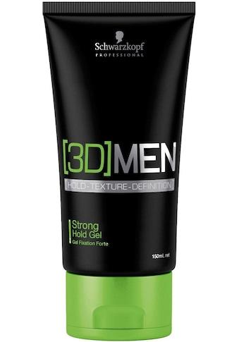 Schwarzkopf Professional Haargel »3D Men Strong Hold Gel«, starker, schneller Halt kaufen