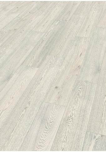 EGGER Korklaminat »Summersville Eiche weiss«, authentische Holzoptik, warm & leise kaufen