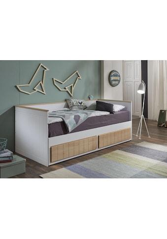 Relita Funktionsbett mit Lattenrost, Schubkästen und Auszug auf 180x200 cm, wahlweise mit/ohne Matratze lieferbar kaufen