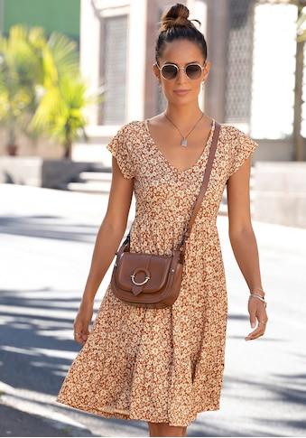 Buffalo Jerseykleid, mit Blümchenprint kaufen