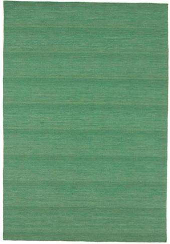 carpetfine Wollteppich »Kelim Loom«, rechteckig, 5 mm Höhe, Wolle/Baumwolle... kaufen