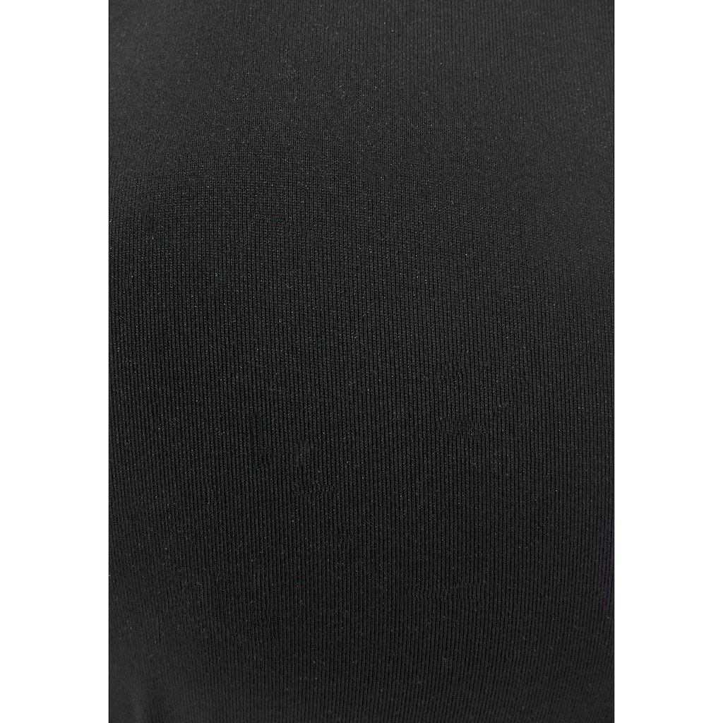 LASCANA Bügel-Bikini-Top »Scallop«, mit Wattierung