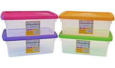 WHAM Set: Aufbewahrungsbox »Whambox«, 4er - Set, je 3,5 l kaufen